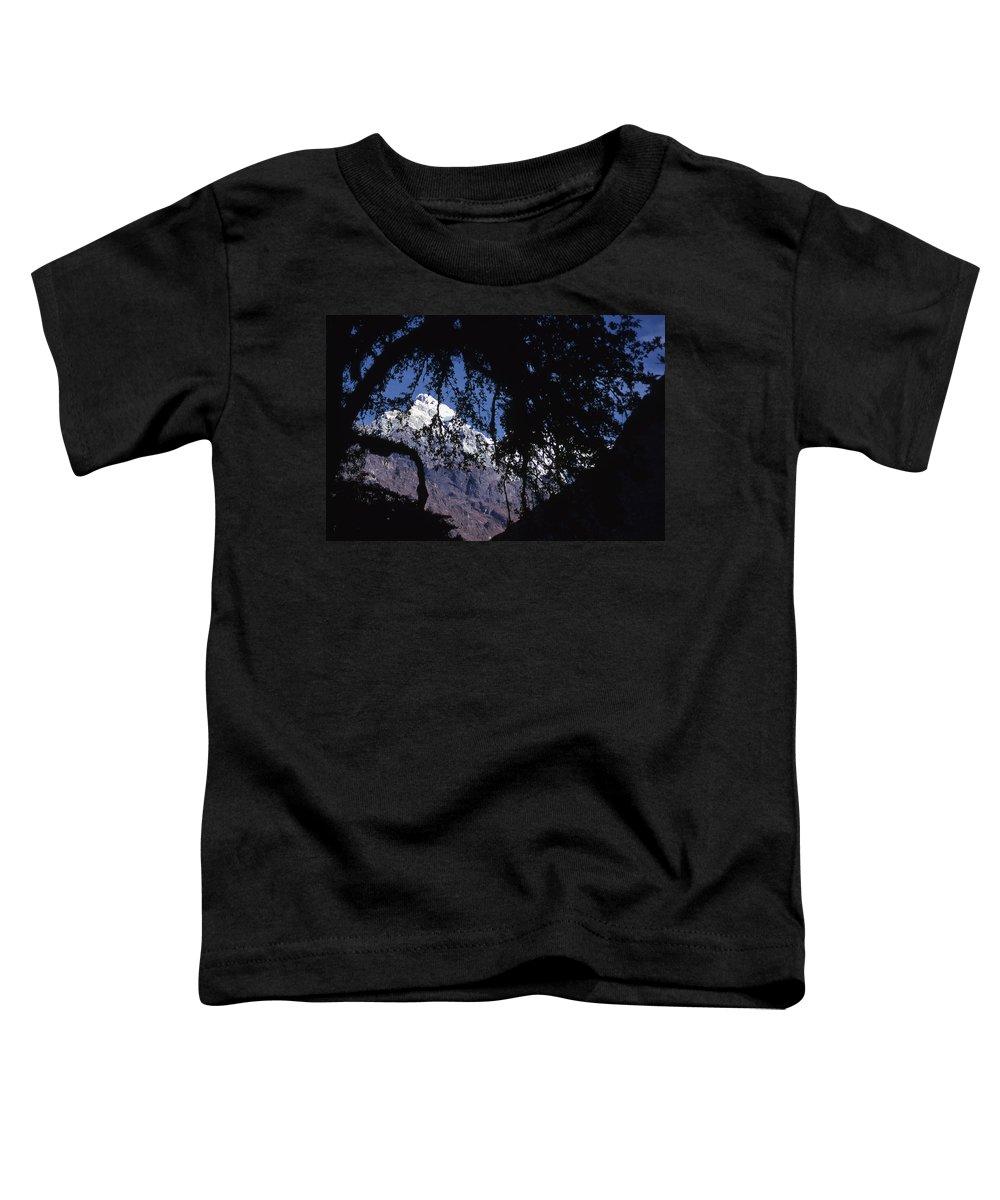 Langtang Toddler T-Shirt featuring the photograph Langtang by Patrick Klauss
