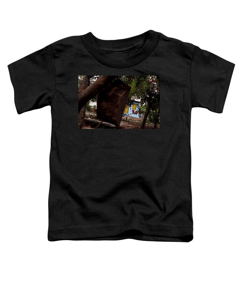 Dog Toddler T-Shirt featuring the photograph Lencois - Dog by Patrick Klauss