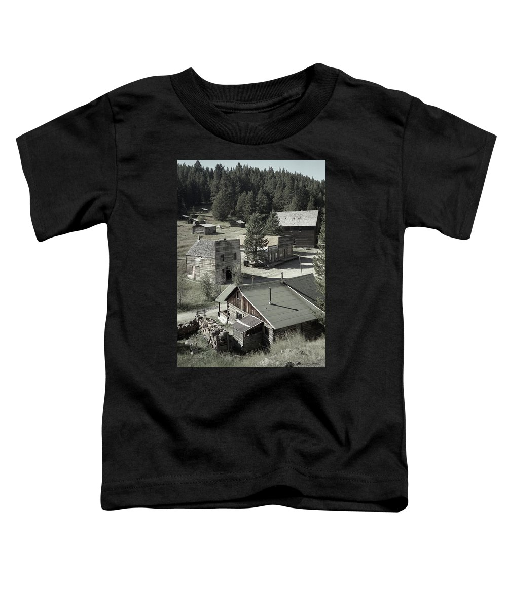 Ghost Towns Toddler T-Shirt featuring the photograph Life In A Ghost Town by Richard Rizzo