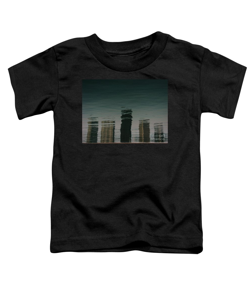 Lake Toddler T-Shirt featuring the photograph Lonely Soul by Dana DiPasquale