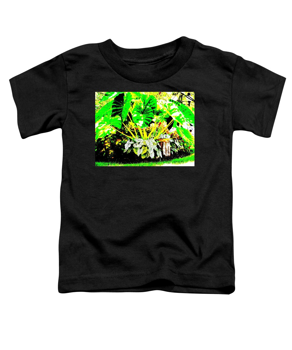 Plants Toddler T-Shirt featuring the photograph Lush Garden by Ed Smith
