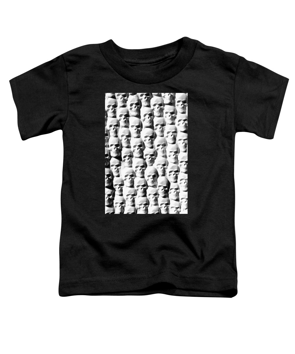 Figurative Toddler T-Shirt featuring the sculpture Melancholic Journey 2 by Mark Cawood