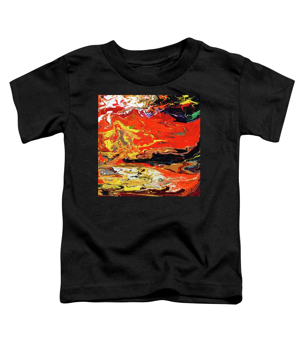 Fusionart Toddler T-Shirt featuring the painting Melt by Ralph White
