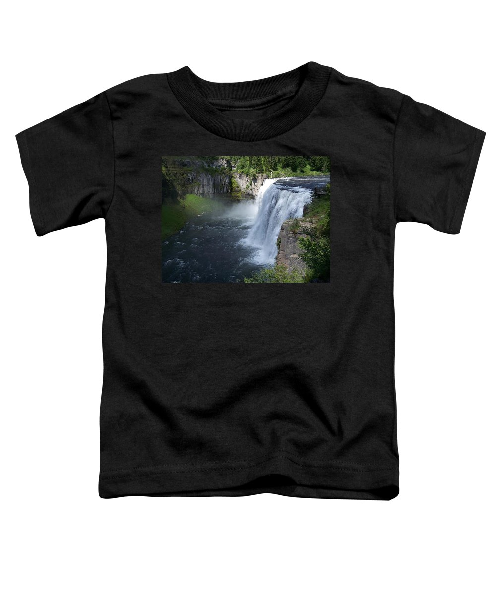 Landscape Toddler T-Shirt featuring the photograph Mesa Falls by Gale Cochran-Smith