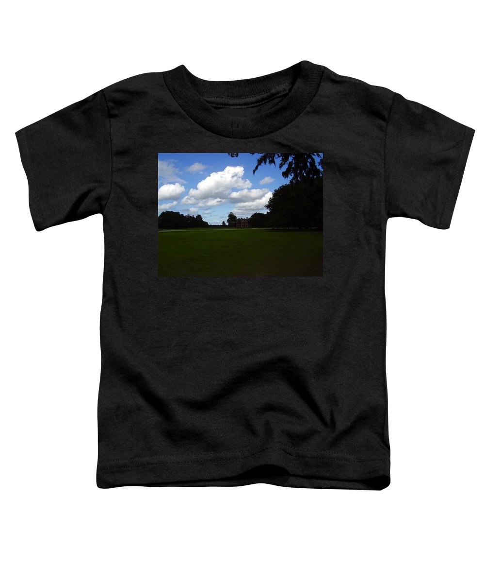 Middleton Place Toddler T-Shirt featuring the photograph Middleton Place by Flavia Westerwelle