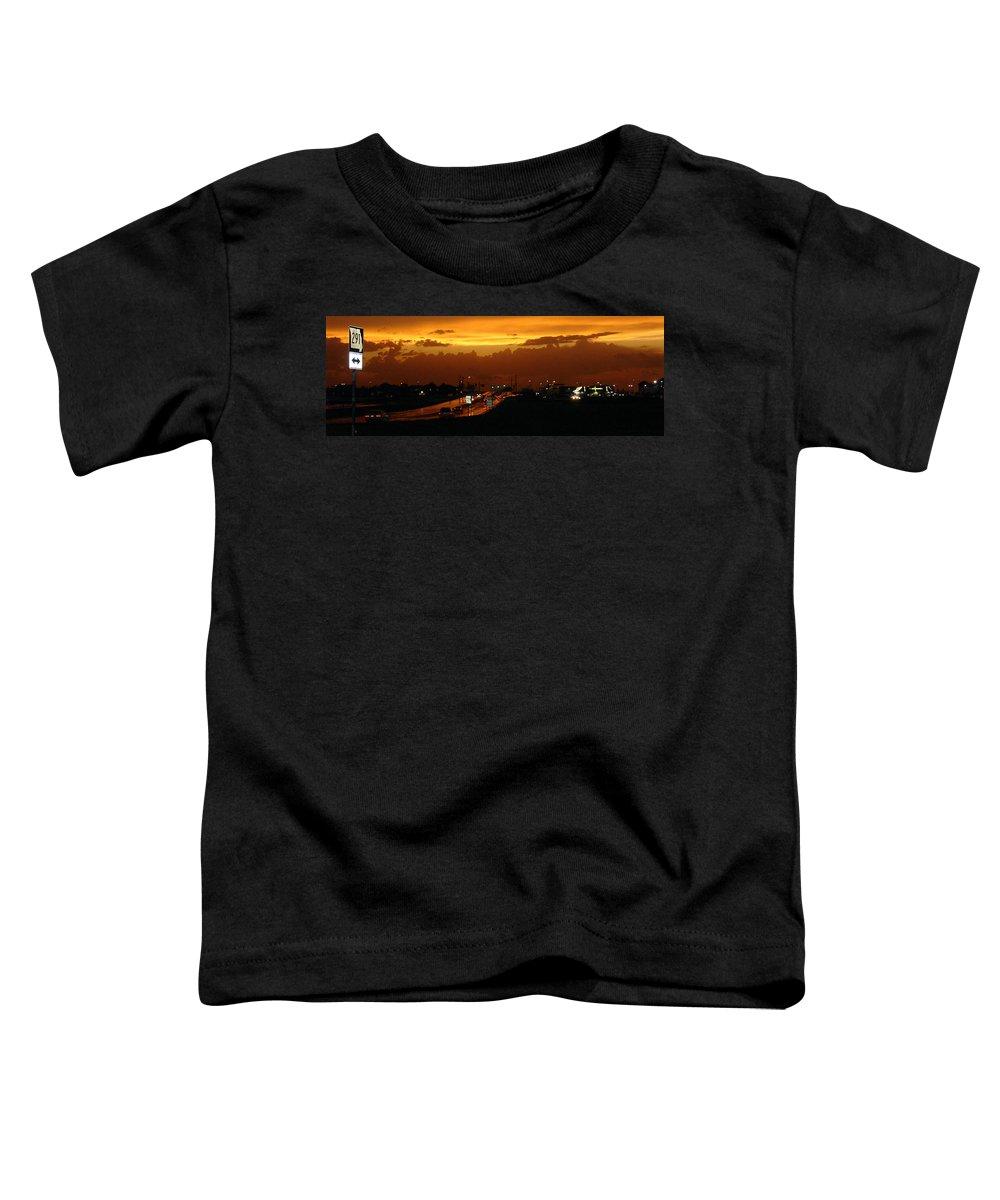 Landscape Toddler T-Shirt featuring the photograph Missouri 291 by Steve Karol