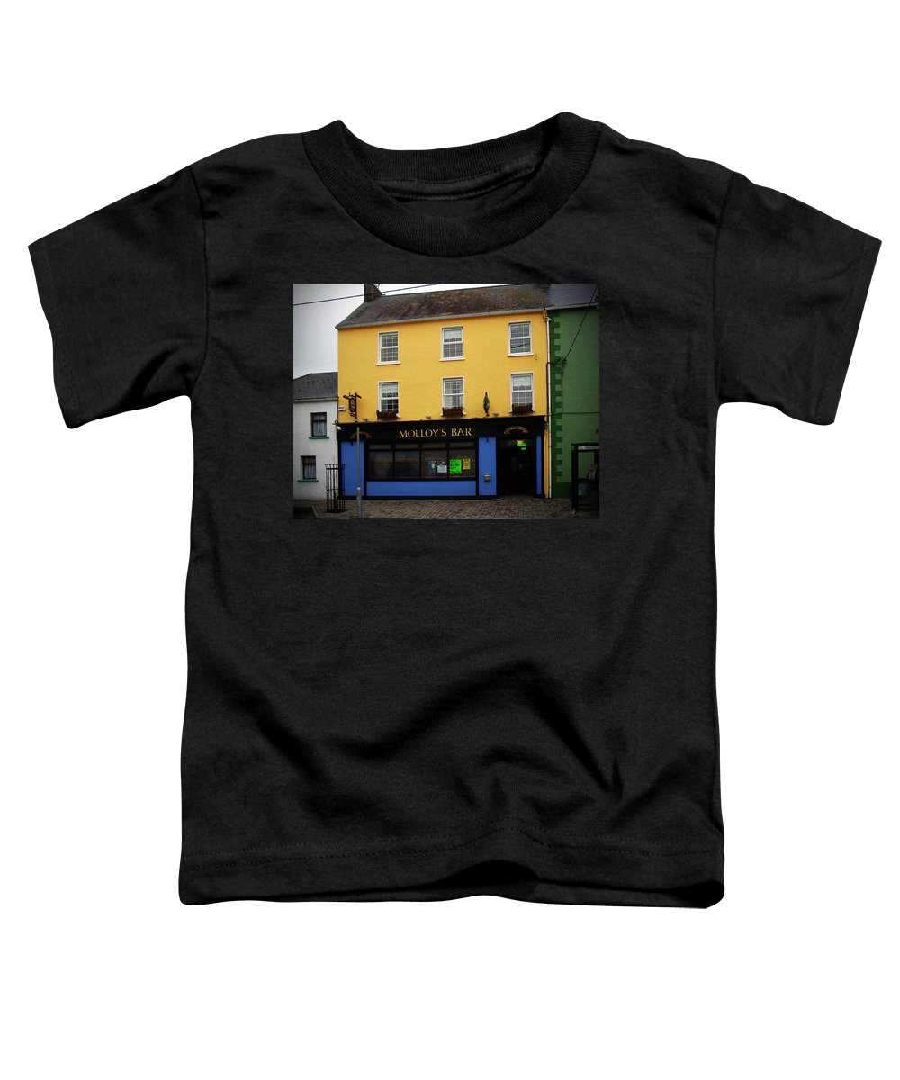 Pub Toddler T-Shirt featuring the photograph Molloy by Tim Nyberg