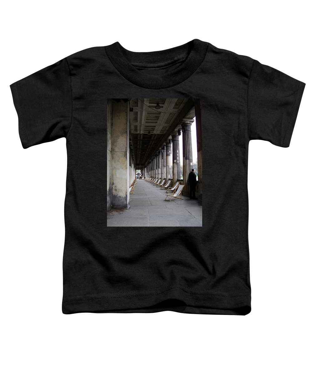 Museumsinsel Toddler T-Shirt featuring the photograph Museumsinsel by Flavia Westerwelle