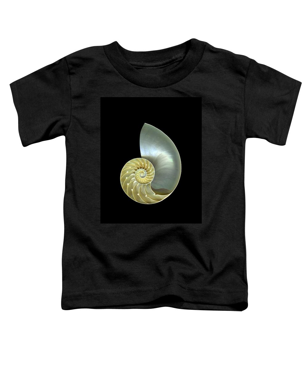 Slanec Toddler T-Shirt featuring the photograph Nautilus Nr.1 by Christian Slanec