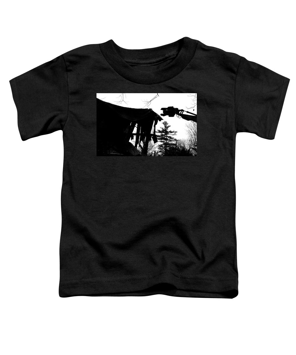 Machine Toddler T-Shirt featuring the photograph Nessie by Jean Macaluso
