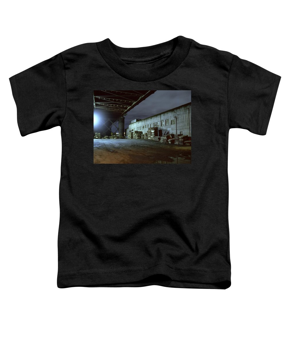 Nightscape Toddler T-Shirt featuring the photograph Nightscape 1 by Lee Santa