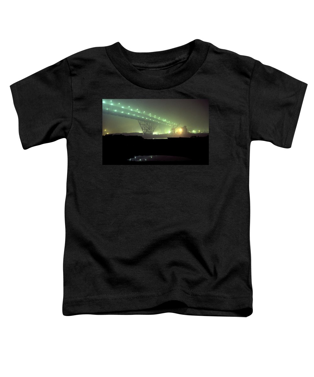 Night Photo Toddler T-Shirt featuring the photograph Nightscape 3 by Lee Santa