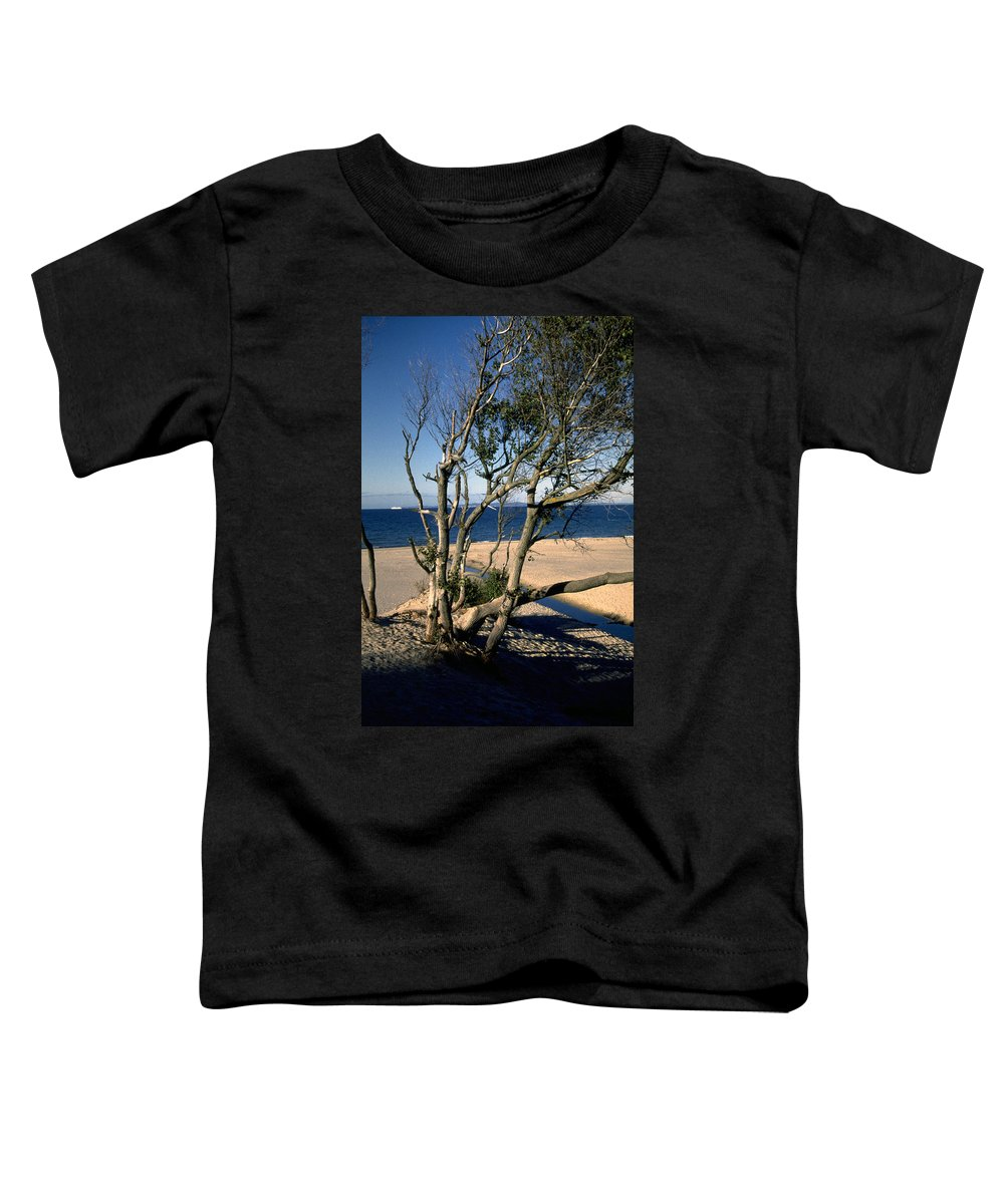 Denmark Toddler T-Shirt featuring the photograph Nordic Beach by Flavia Westerwelle