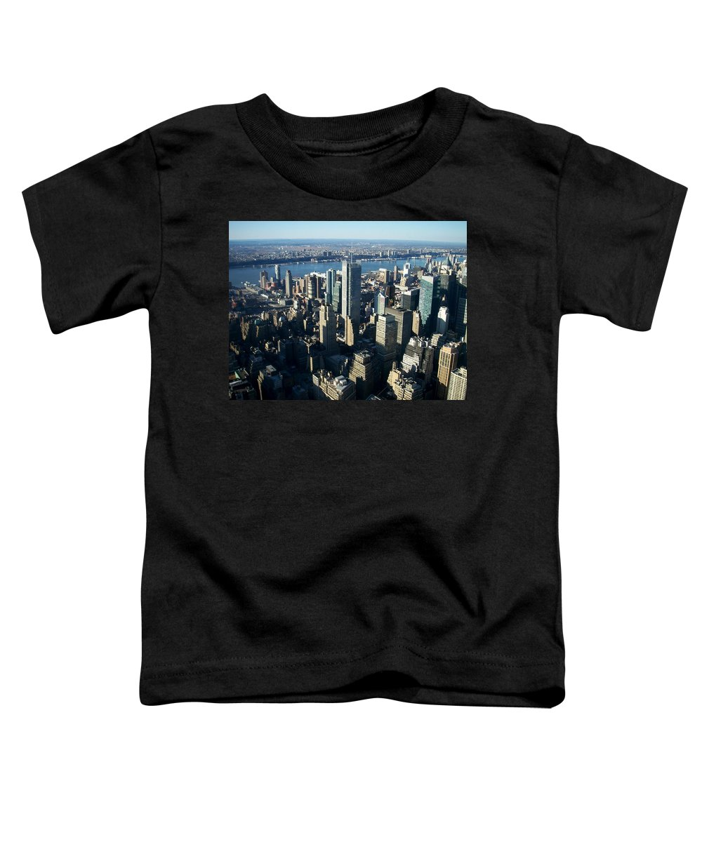 Nyc Toddler T-Shirt featuring the photograph Nyc 1 by Anita Burgermeister