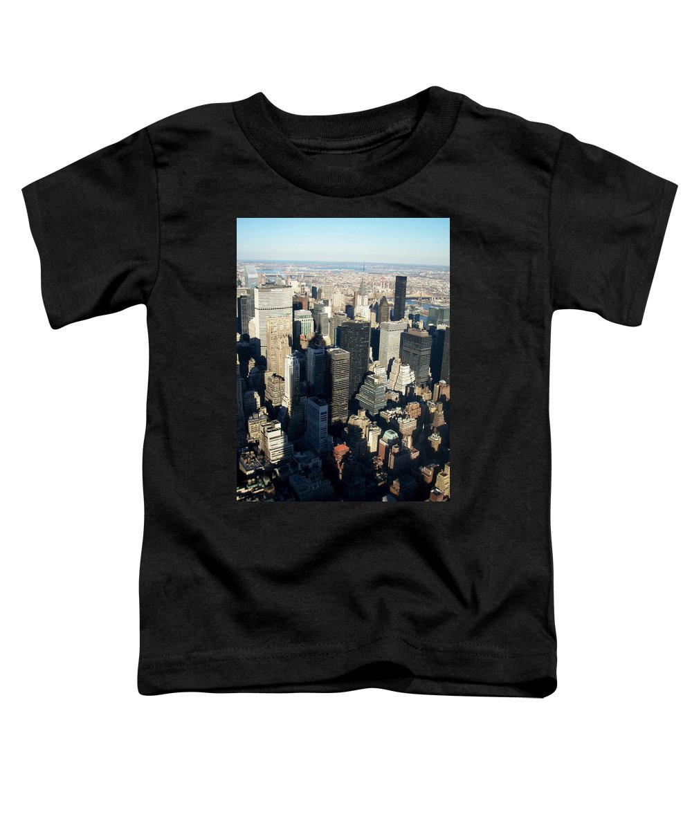 Nyc Toddler T-Shirt featuring the photograph Nyc 3 by Anita Burgermeister