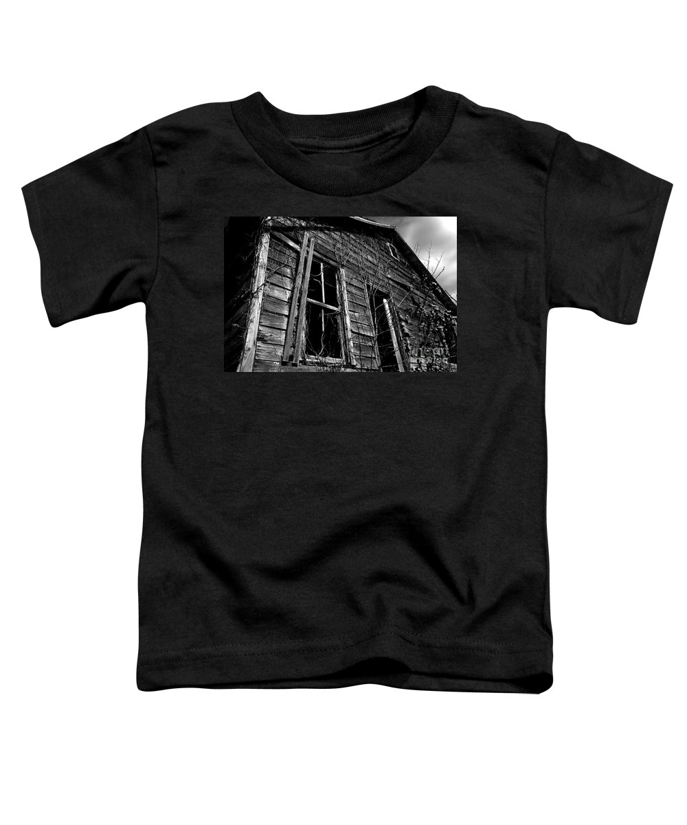 old House Toddler T-Shirt featuring the photograph Old House by Amanda Barcon