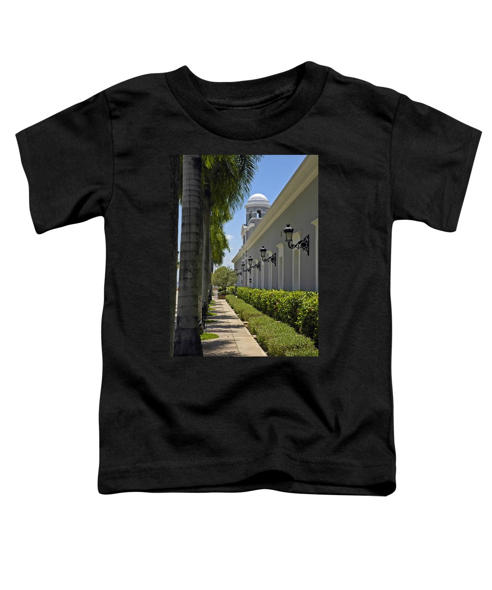 Travel Toddler T-Shirt featuring the photograph Old San Juan Puerto Rico by Tito Santiago