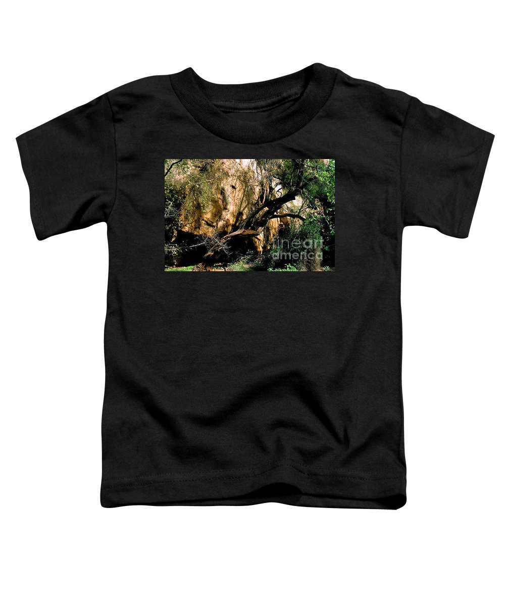 Trees Toddler T-Shirt featuring the photograph Old Tree by Kathy McClure