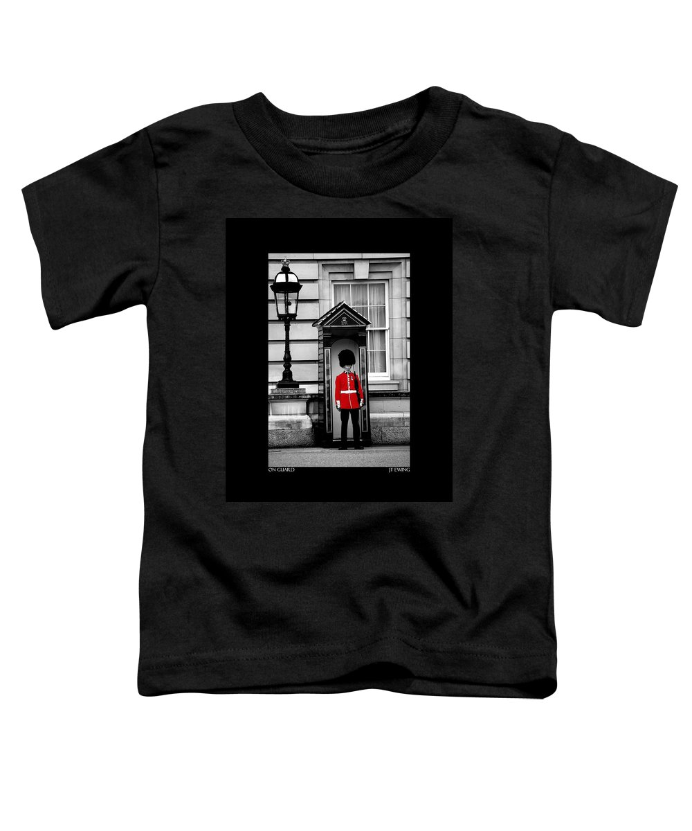 London Toddler T-Shirt featuring the photograph On Guard by J Todd