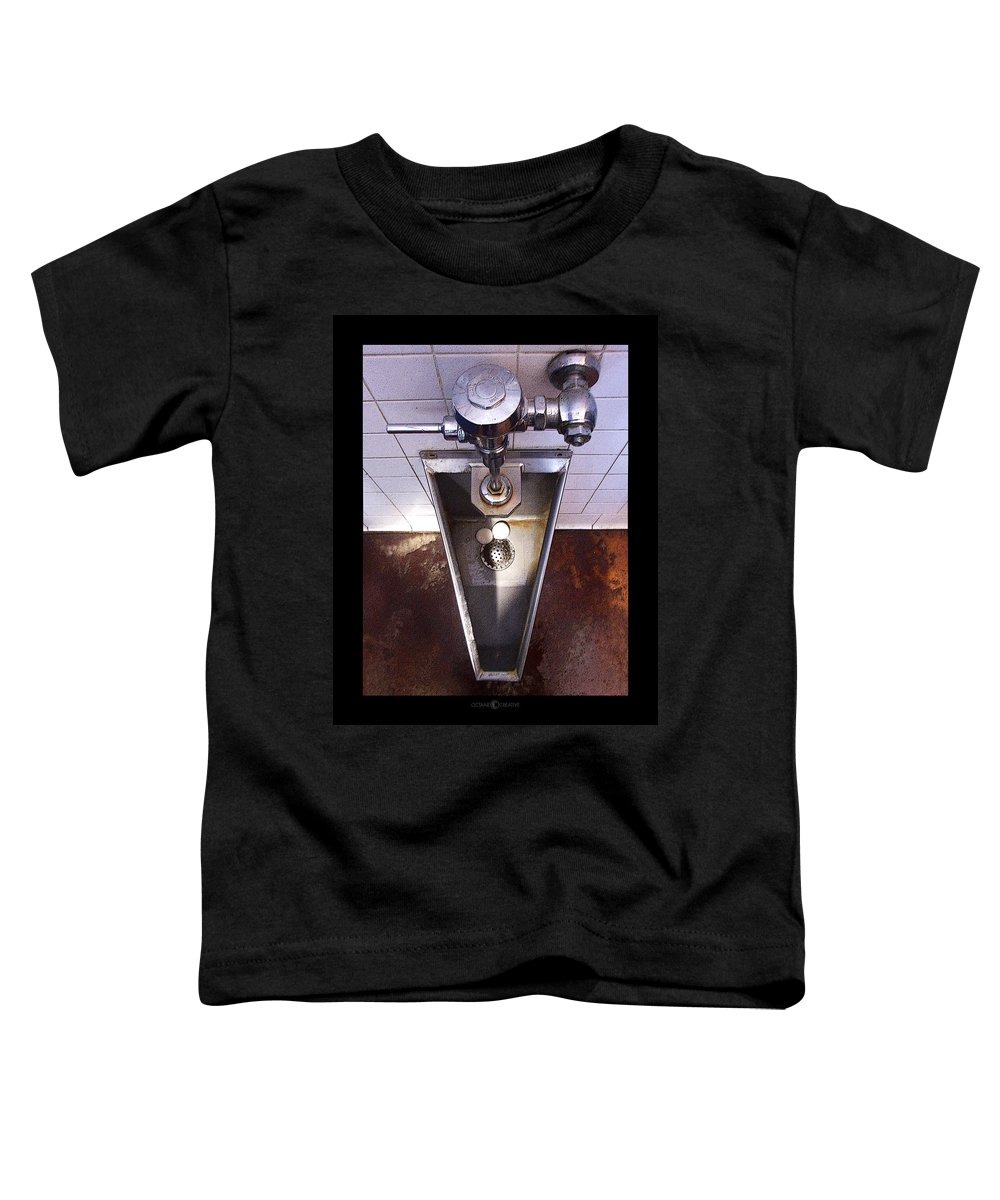 Urinal Toddler T-Shirt featuring the photograph Orcas Island Urinal by Tim Nyberg
