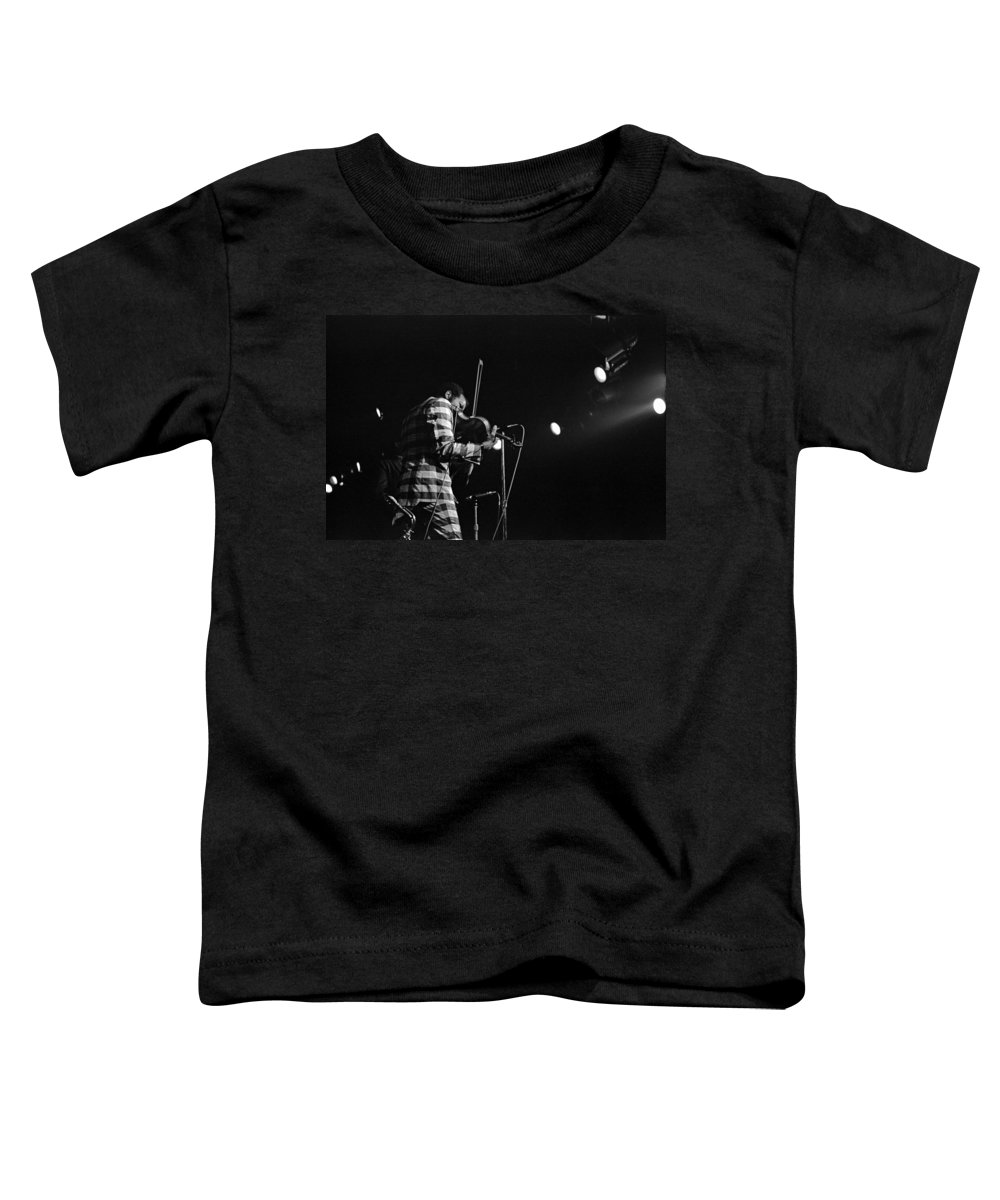 Ornette Coleman Toddler T-Shirt featuring the photograph Ornette Coleman On Violin by Lee Santa