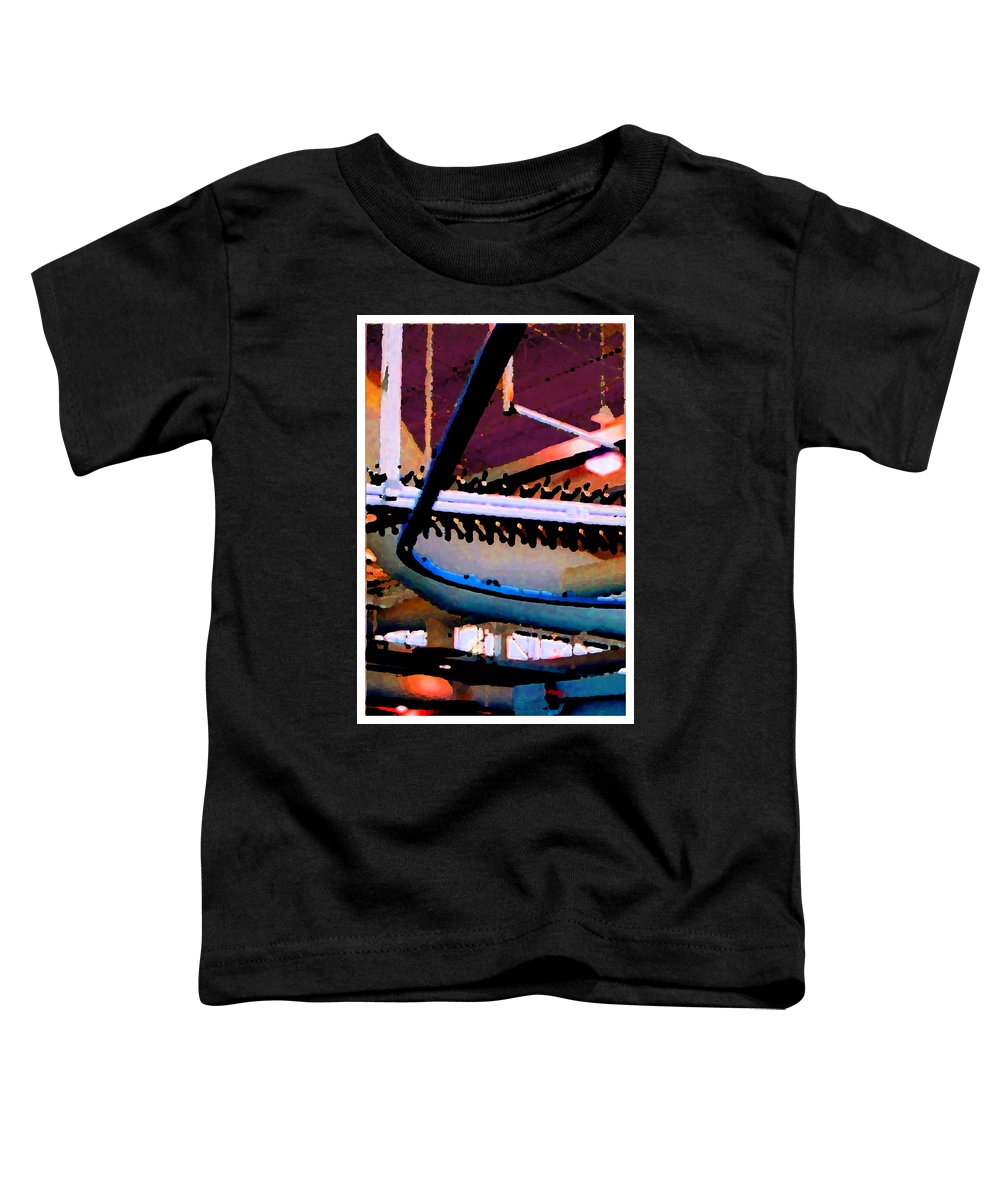 Abstract Toddler T-Shirt featuring the photograph Panel Three From Star Factory by Steve Karol