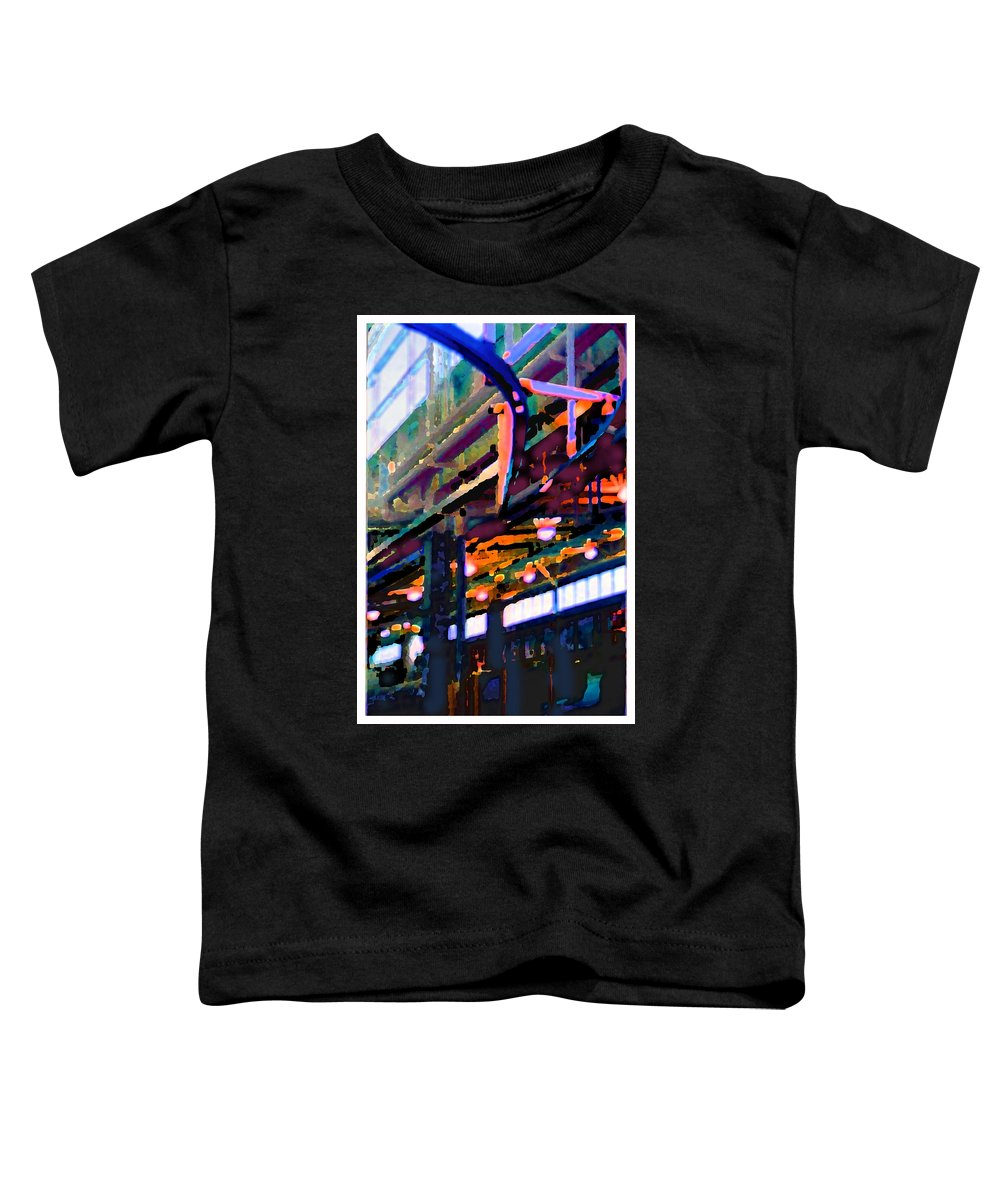 Abstract Toddler T-Shirt featuring the photograph panel two from Star Factory by Steve Karol