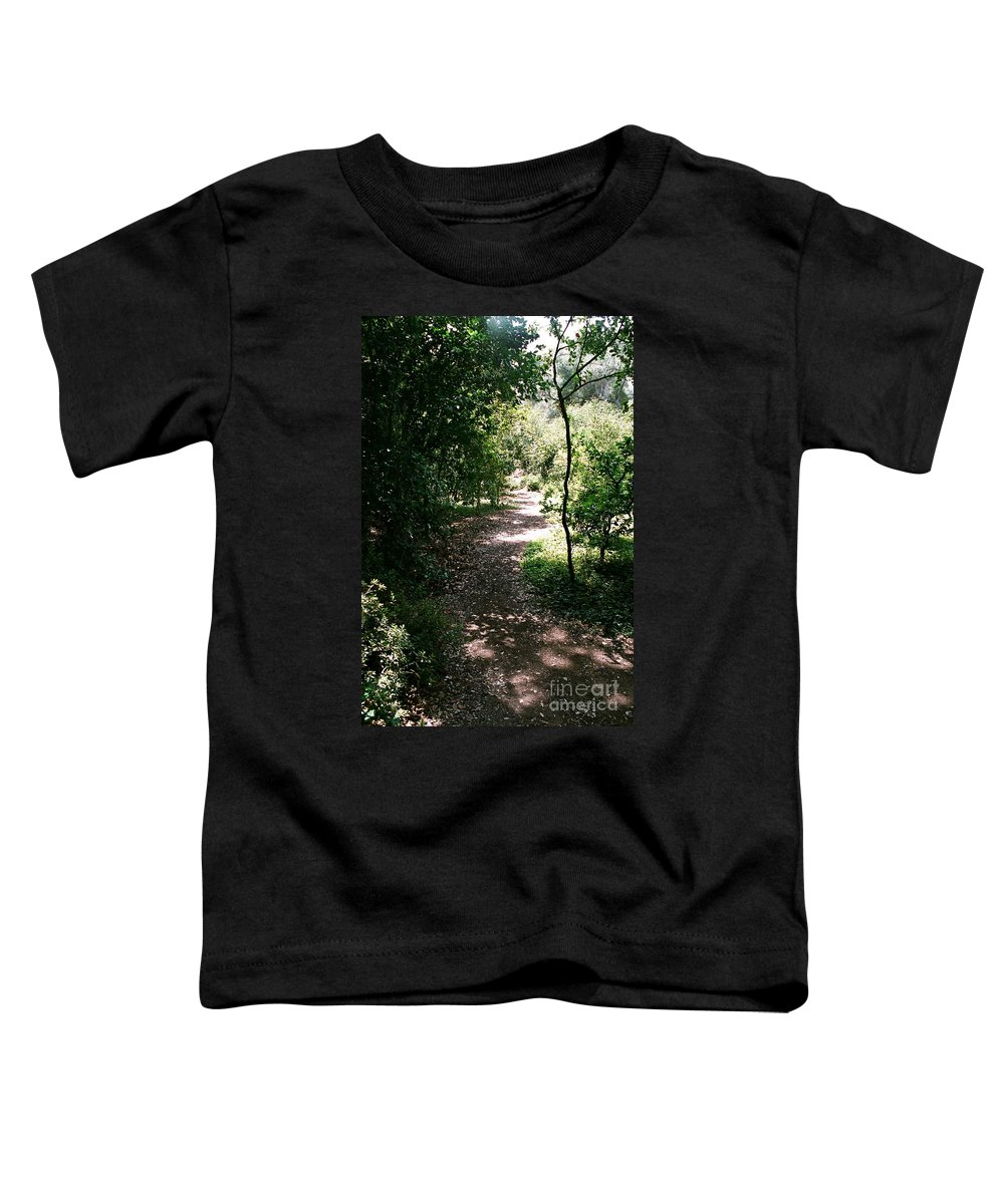 Path Toddler T-Shirt featuring the photograph Path by Dean Triolo