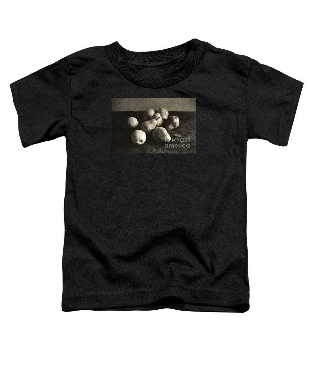 Pears Toddler T-Shirt featuring the photograph Pears by Michael Ziegler