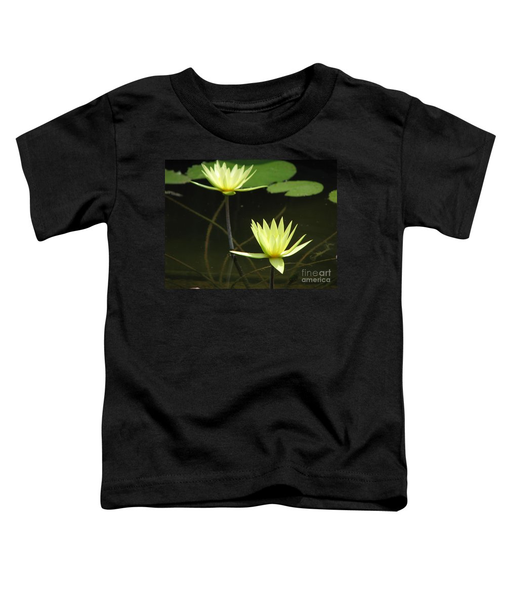 Pond Toddler T-Shirt featuring the photograph Pond by Amanda Barcon