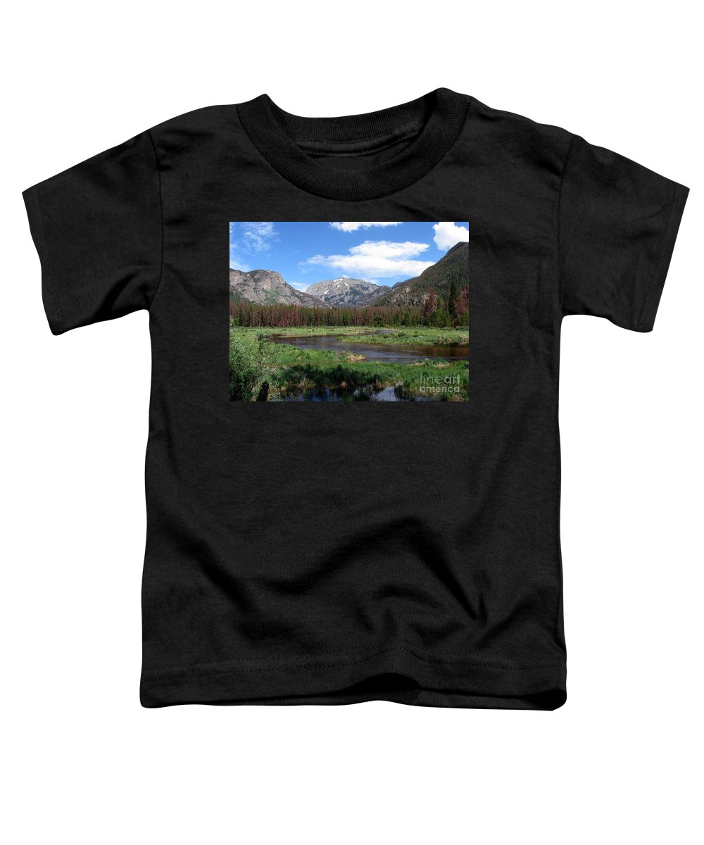 Nature Toddler T-Shirt featuring the photograph Quiet by Amanda Barcon