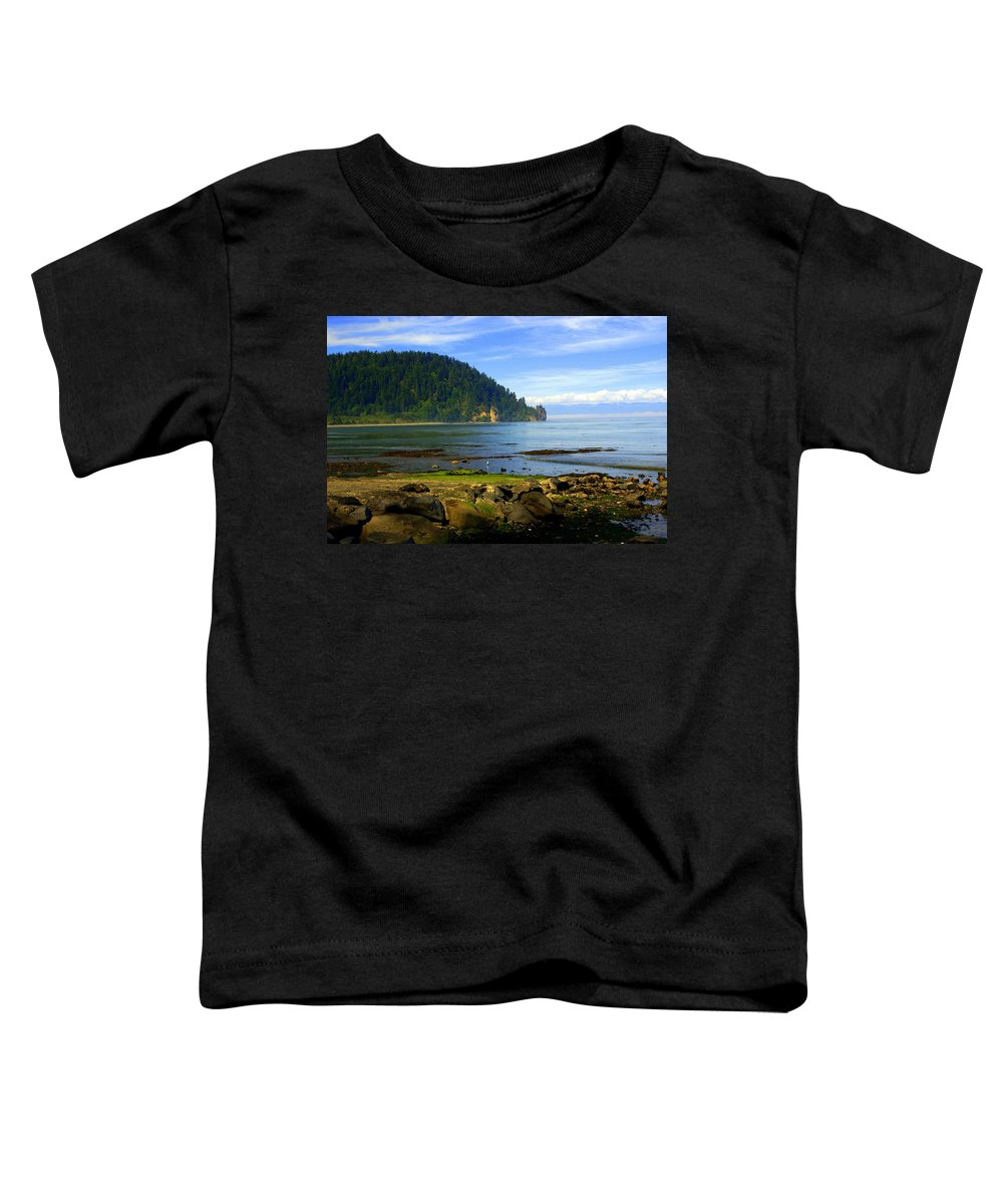 Olympic Toddler T-Shirt featuring the photograph Quiet Bay by Marty Koch