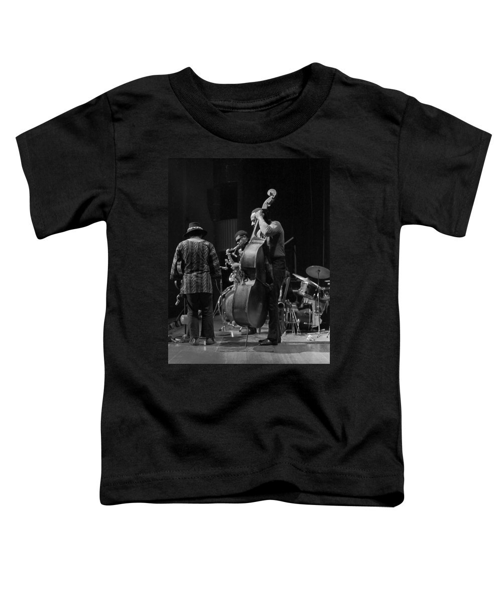 Rahsaan Roland Kirk Toddler T-Shirt featuring the photograph Rahsaan Roland Kirk 2 by Lee Santa