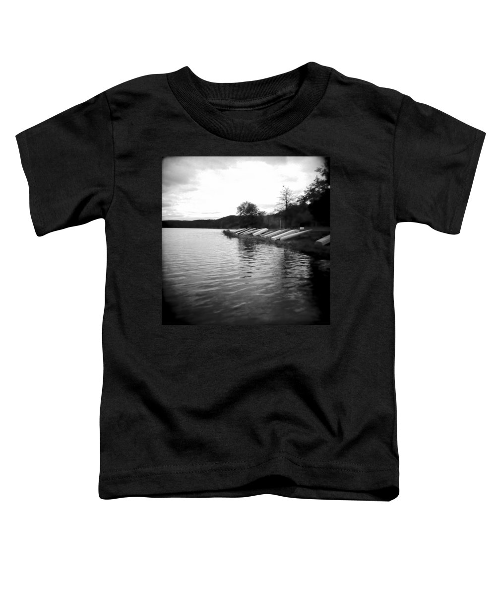 Photograph Toddler T-Shirt featuring the photograph Ready And Waiting by Jean Macaluso