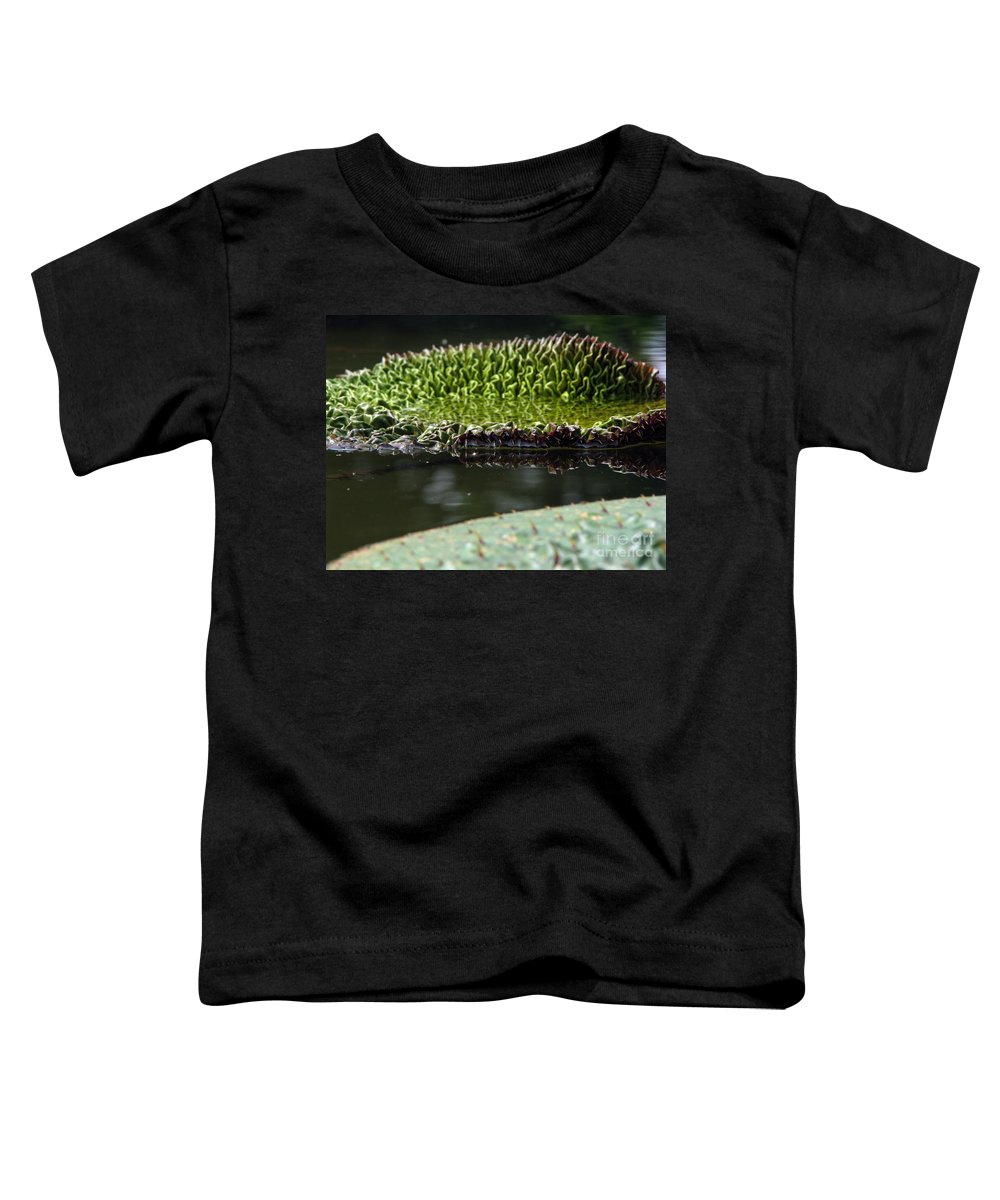 Lillypad Toddler T-Shirt featuring the photograph Ready To Spread by Amanda Barcon