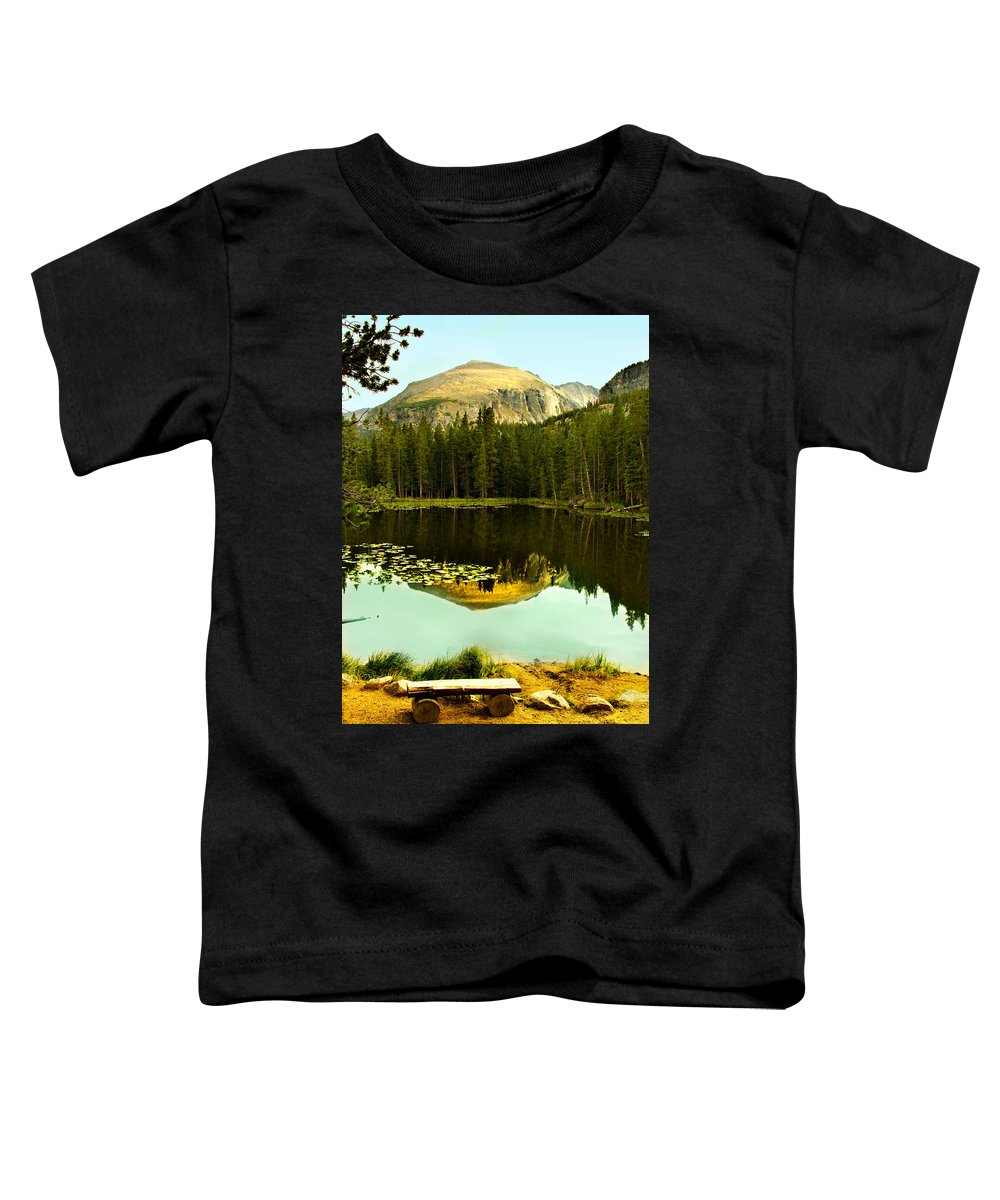Reflection Toddler T-Shirt featuring the photograph Reflection by Marilyn Hunt