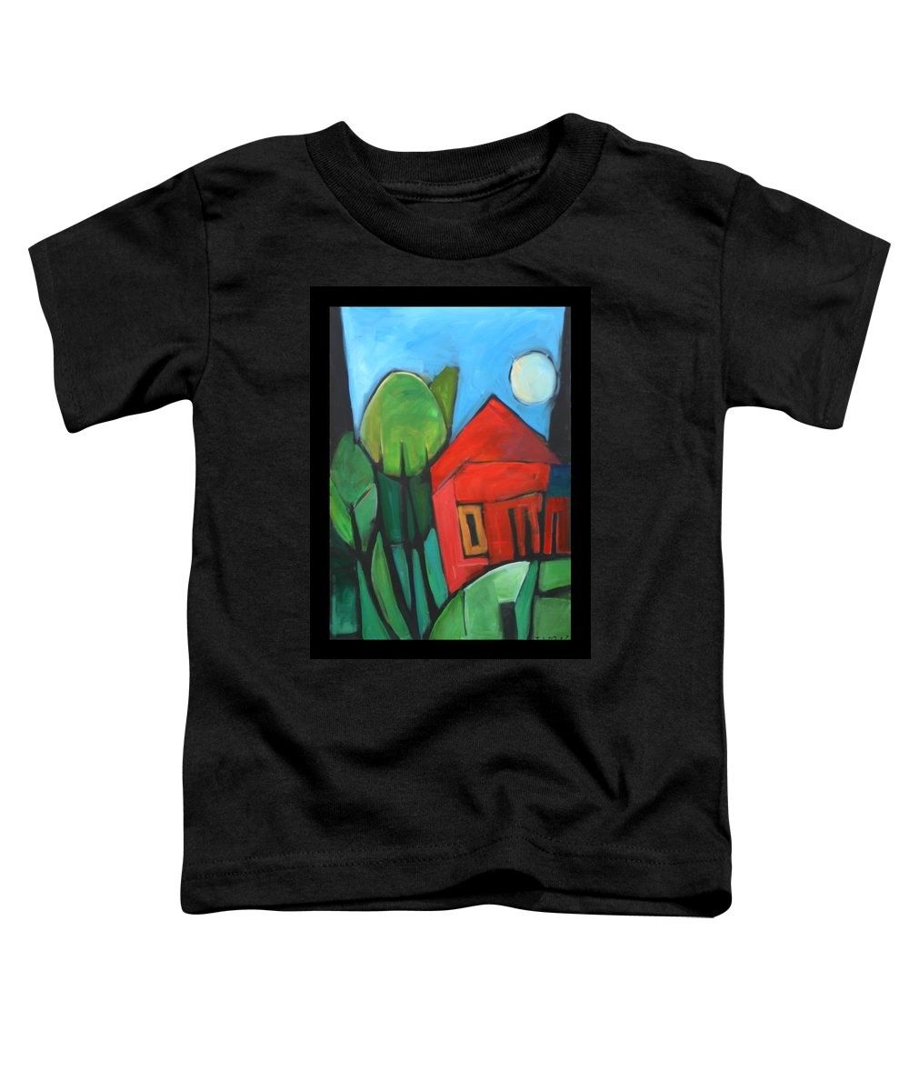 Trees Toddler T-Shirt featuring the painting Root Cellar by Tim Nyberg