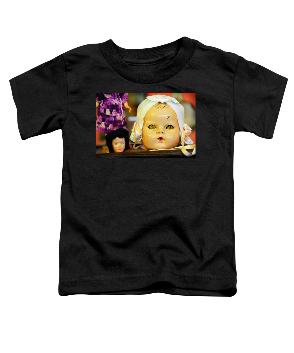Antique Toddler T-Shirt featuring the photograph Rumormongers by Skip Hunt