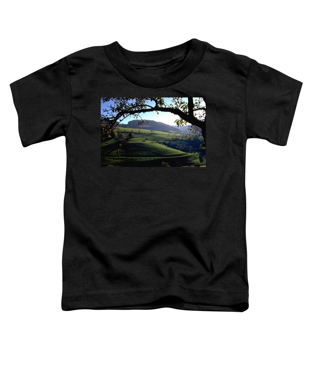 Schwarzwald Toddler T-Shirt featuring the photograph Schwarzwald by Flavia Westerwelle