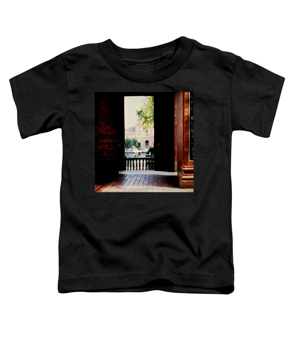Seville Toddler T-Shirt featuring the photograph Seville by Ian MacDonald