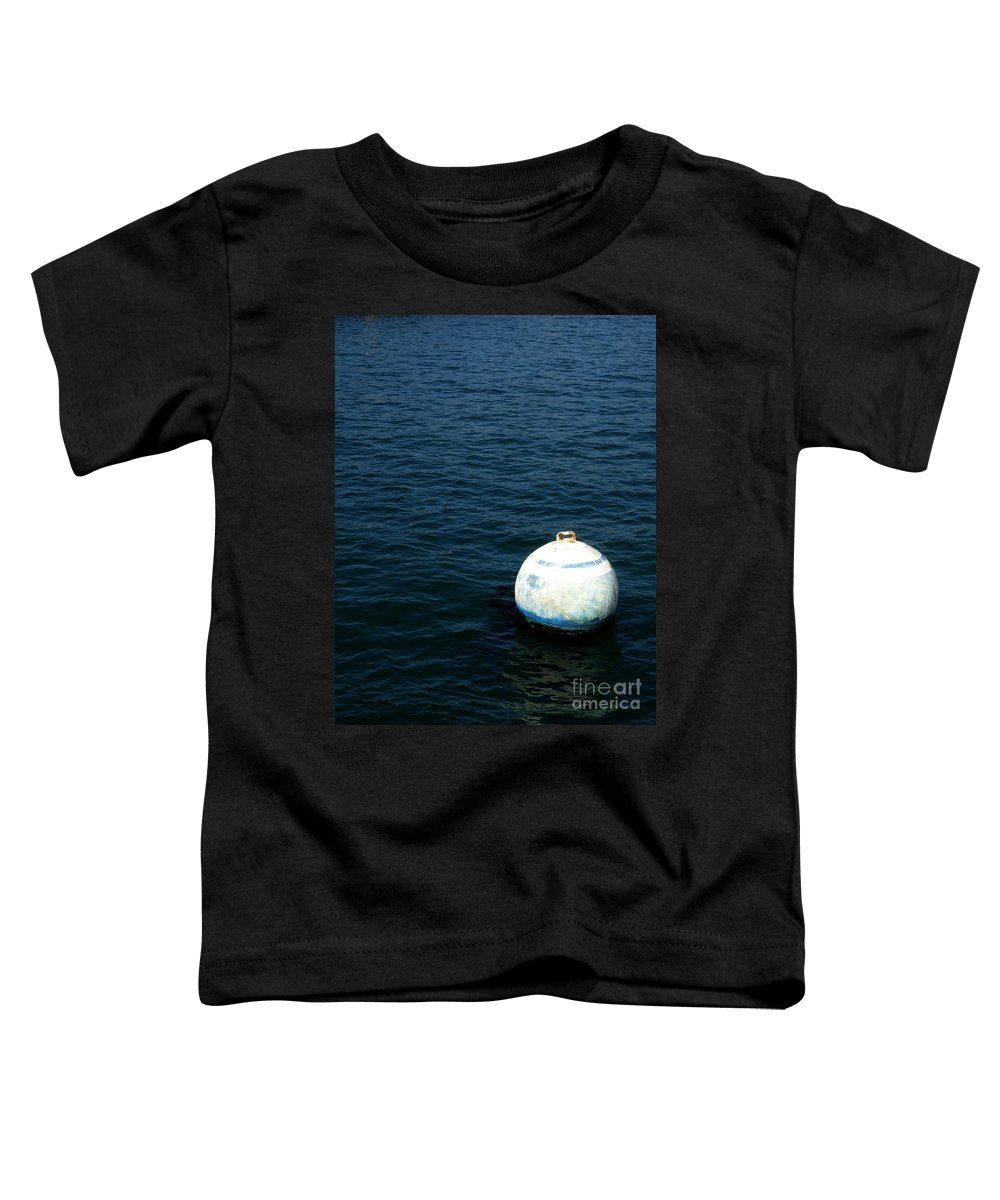 Seascape Toddler T-Shirt featuring the photograph Sit And Bounce by Shelley Jones