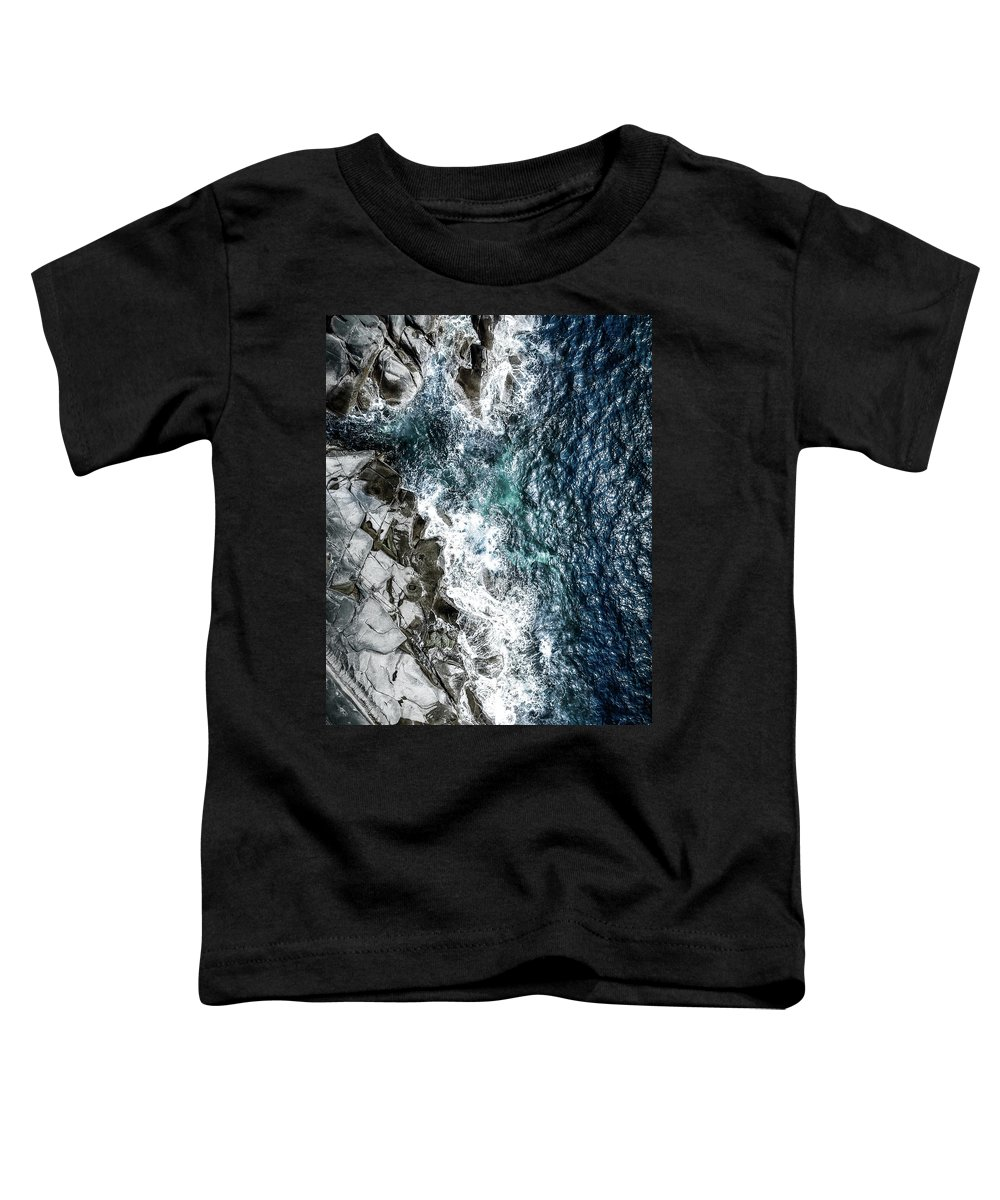 Drone Toddler T-Shirt featuring the photograph Skagerrak Coastline - Aerial Photography by Nicklas Gustafsson