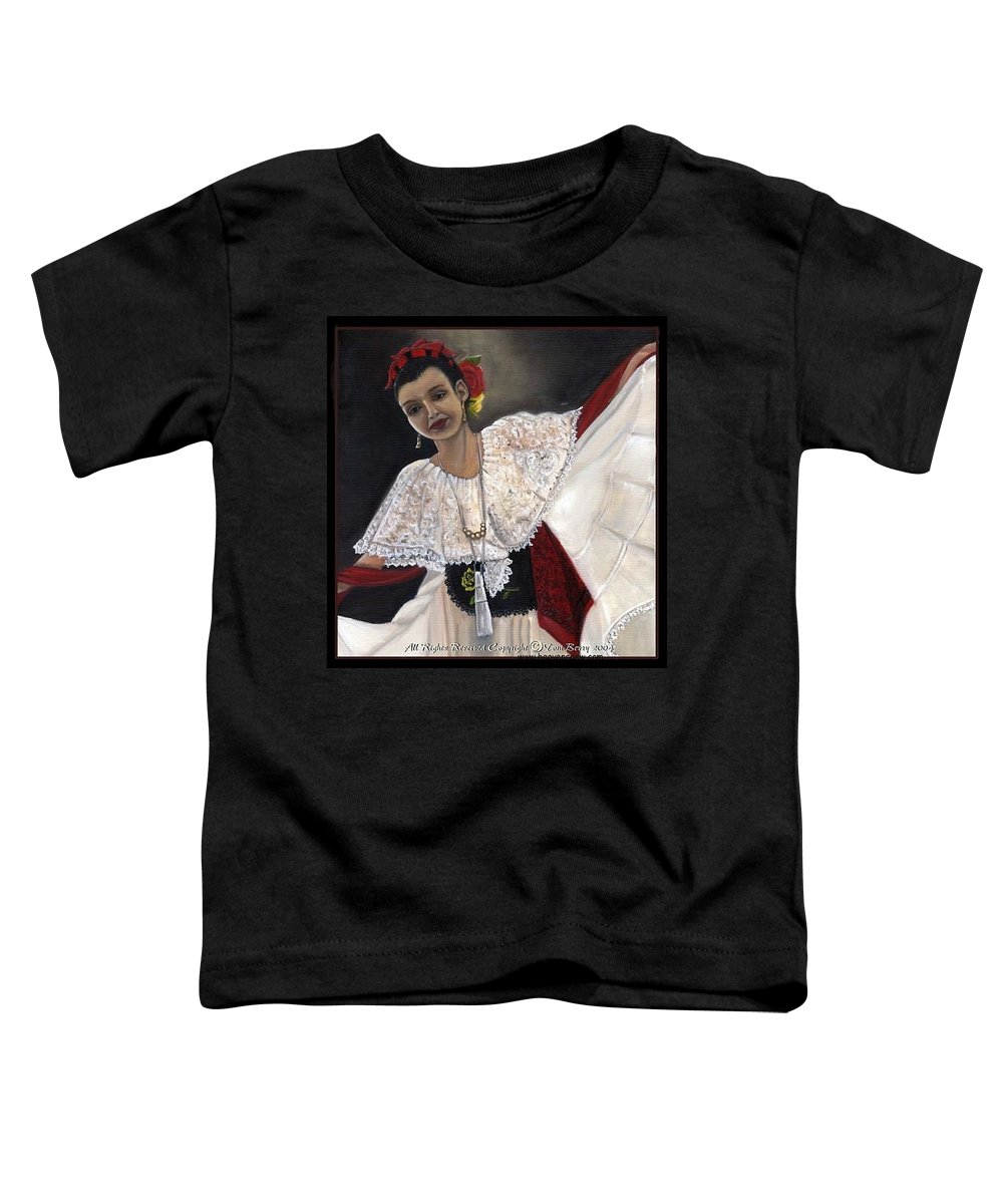 Toddler T-Shirt featuring the painting Solita by Toni Berry