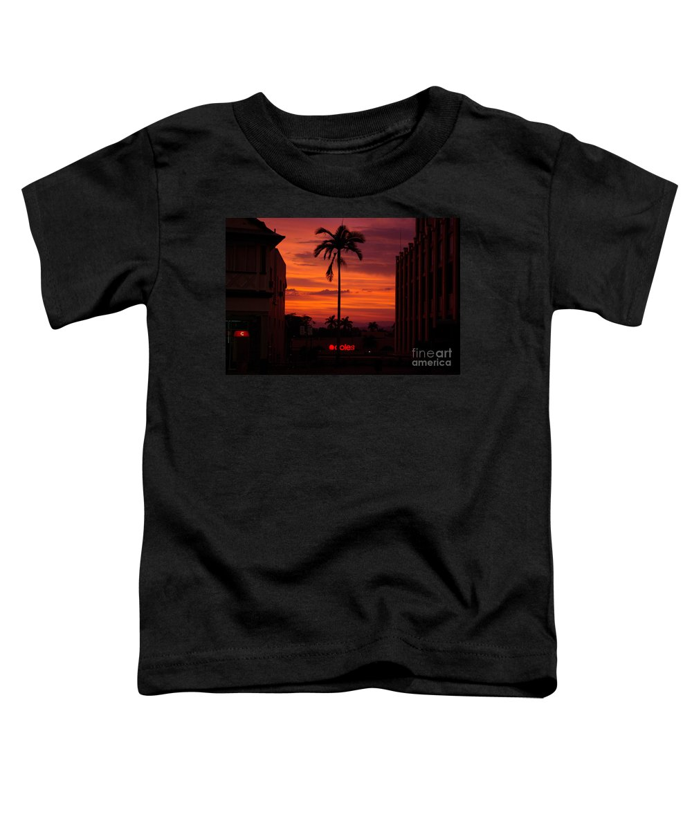Innisfail Toddler T-Shirt featuring the photograph Solitary Passage by Kerryn Madsen- Pietsch