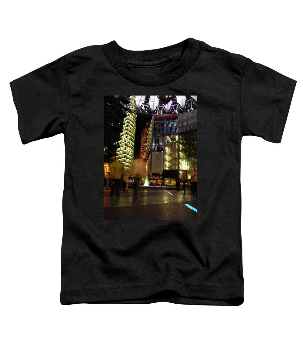 Sony Center Toddler T-Shirt featuring the photograph Sony Center by Flavia Westerwelle