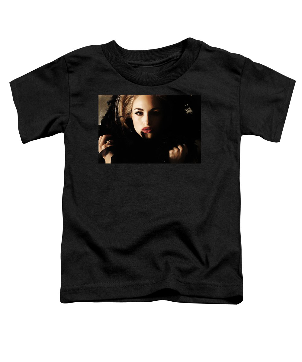 Clay Toddler T-Shirt featuring the photograph Stare by Clayton Bruster
