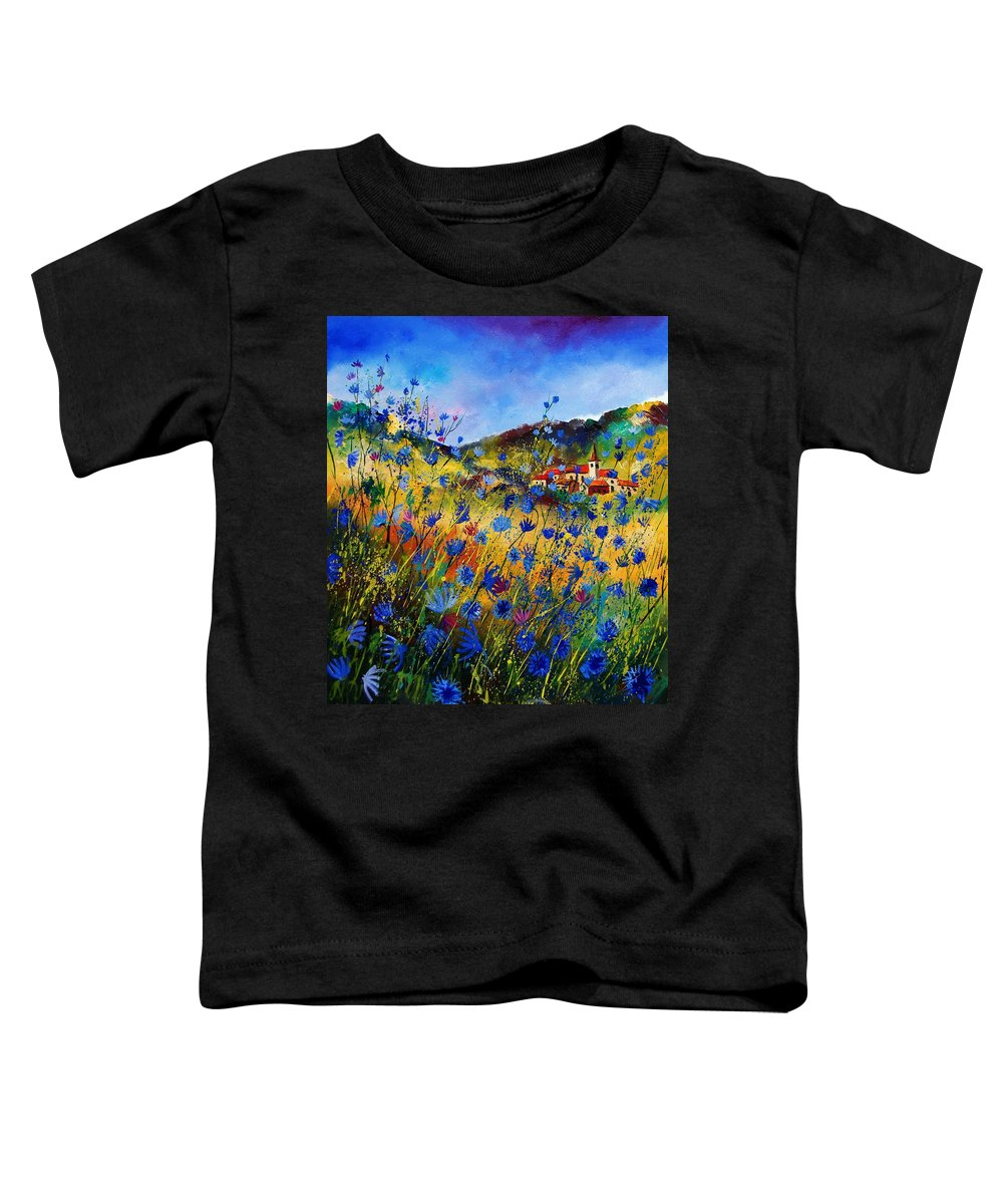 Flowers Toddler T-Shirt featuring the painting Summer Glory by Pol Ledent
