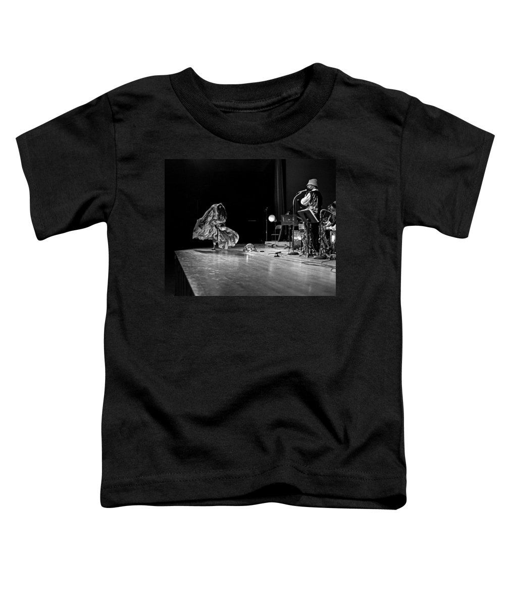 Jazz Toddler T-Shirt featuring the photograph Sun Ra Arkestra At Freeborn Hall by Lee Santa