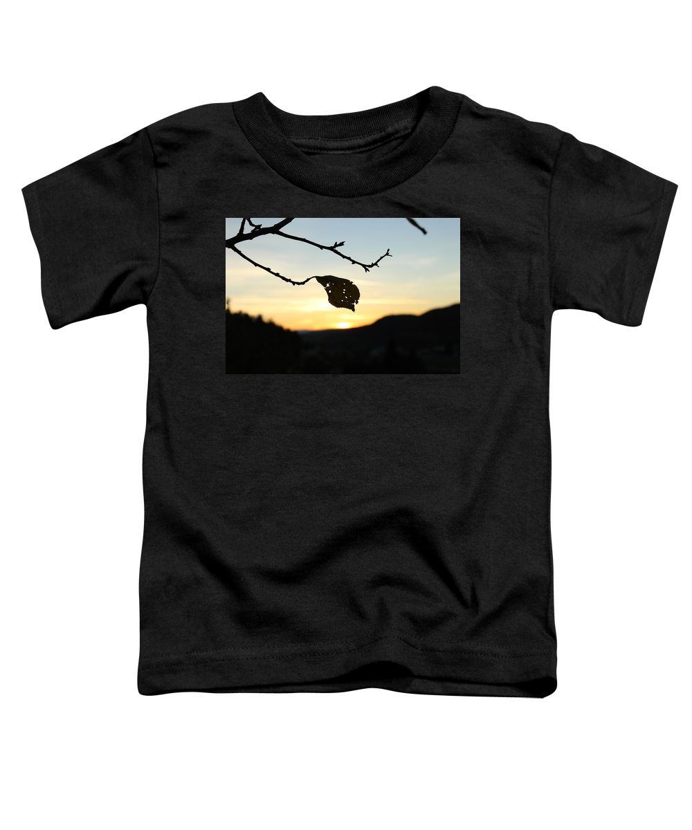 Sunset Toddler T-Shirt featuring the photograph Sunset by Alena Madosova