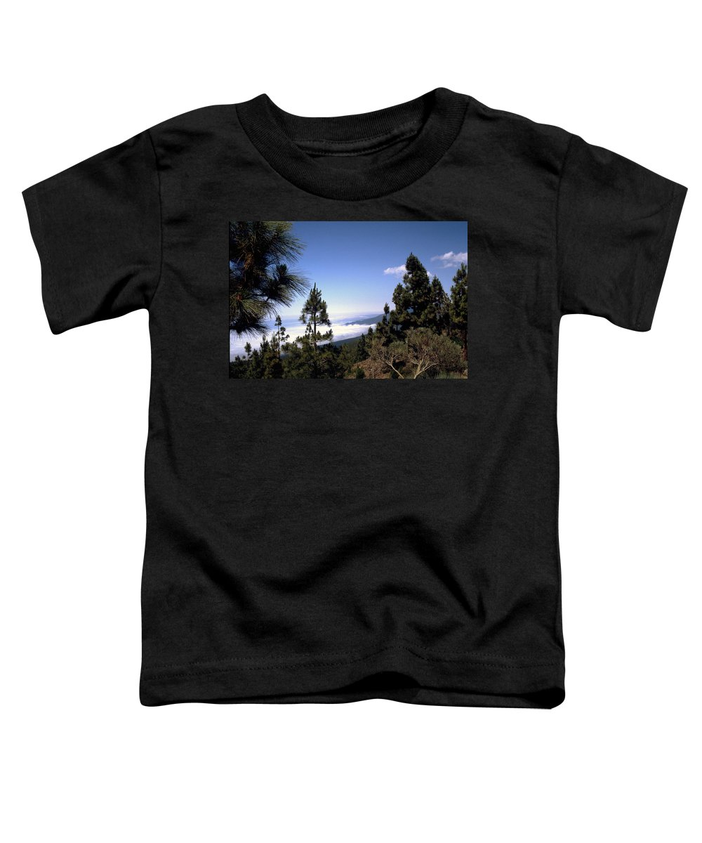 Tenerife Toddler T-Shirt featuring the photograph Tenerife by Flavia Westerwelle